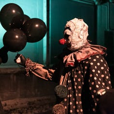 He's back! Gags the clown stars in new feature-length horror film shot in Green Bay
