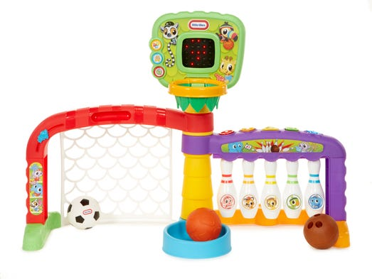 3-in-1 Sports Zone from Little Tikes® Little ones can