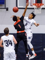 Dallastown's Justin Atwood (3) rejects Northeastern's