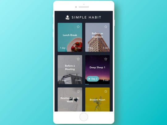 As Seen on Shark Tank, Simple Habit is the best meditation app for busy people, says columnist Marc Saltzman