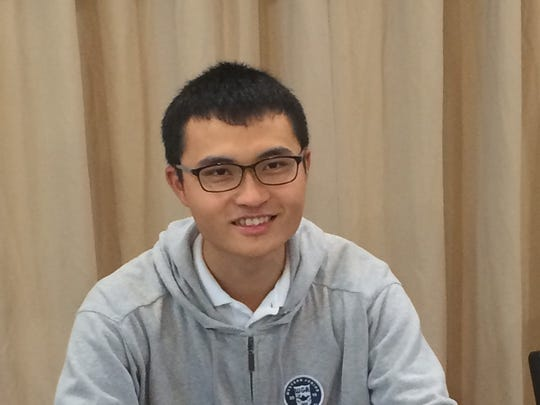 Senior Xavier Prep golfer Leo Hsiang signs his national letter of intent Wednesday to attend UC San Diego.