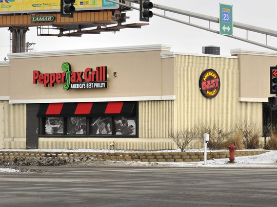 PepperJax Grill opened a new drive-thru window on Thursday.