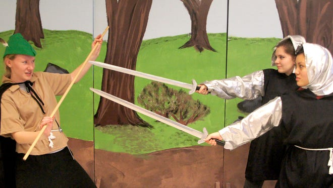 "Shalom Christian Academy's Torn Curtain drama students present ""Robin Hood: The Musical"" March 10-12."