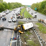 Route 80 reopens after Paramus school bus accident in Mount Olive