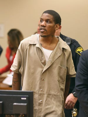 Thomas Johnson III in court on March 27, 2015.