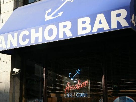 Anchor Bar located at 450 W. Fort in Detroit on Jan.
