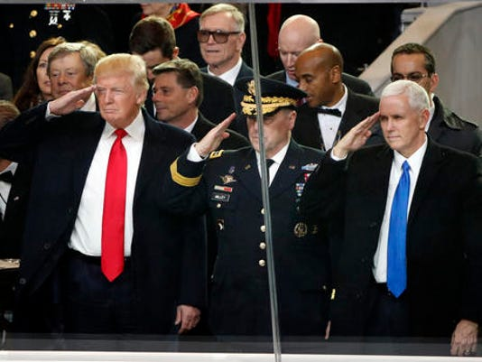 Donald Trump, Mark A. Milley, Mike Pence