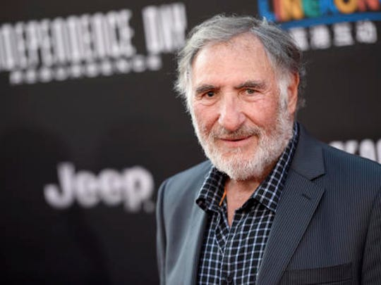 """FILE - This June 20, 2016 file photo shows Judd Hirsch at the premiere of """"Independence Day: Resurgence"""" in Los Angeles. Hirsch stars in the new comedy series, """"Superior Donuts,"""" premiering Thursday, Feb. 2, 2017 on CBS."""