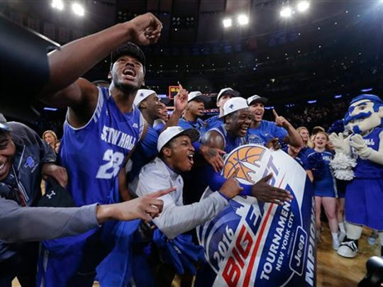 Seton Hall celebrated like it was 1993 after winning the Big East Tourney for the first time since then last March.