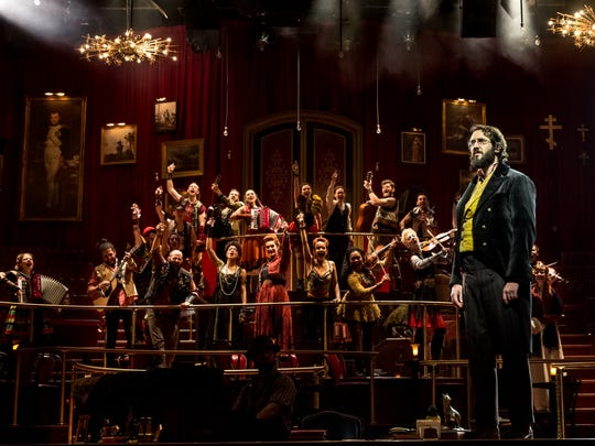 Josh Groban stars as Pierre in 'Natasha, Pierre & The