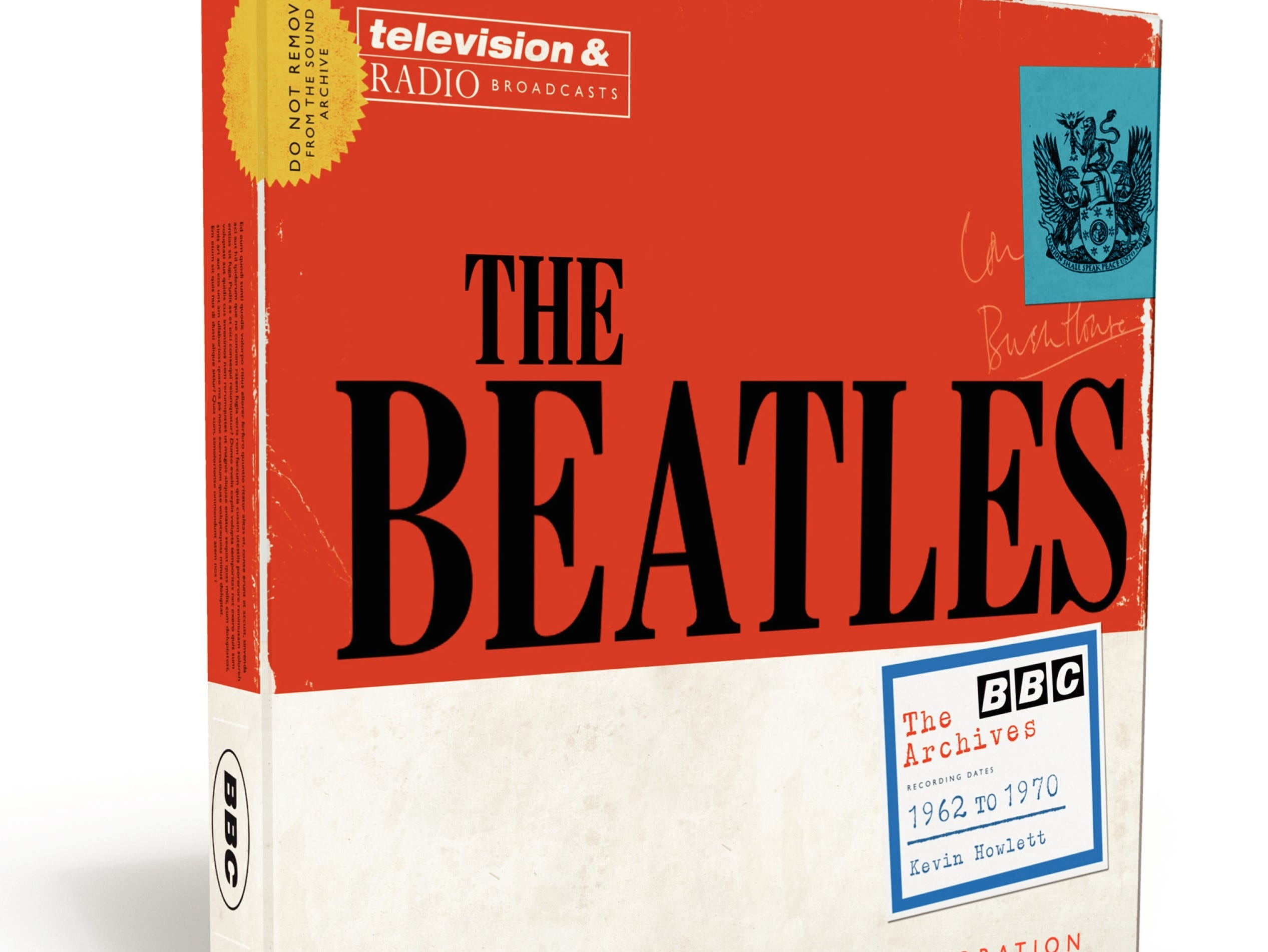 'The Beatles: The BBC Archives' book