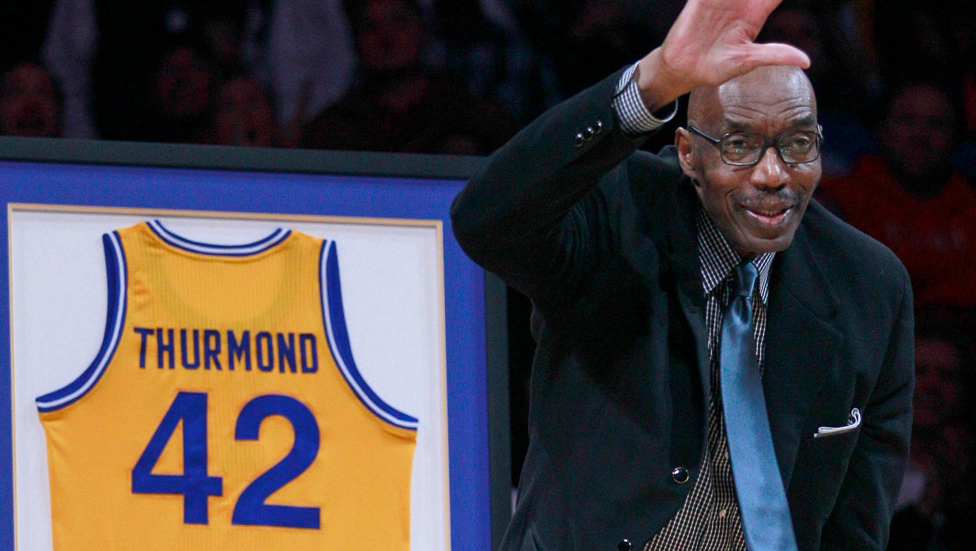 Warriors great Nate Thurmond s at 74