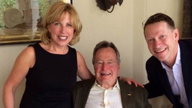 Montclair-based, best-selling author Christina Baker Kline accused former president George H.W. Bush of groping her during a 2014 literacy event where she was a guest author.