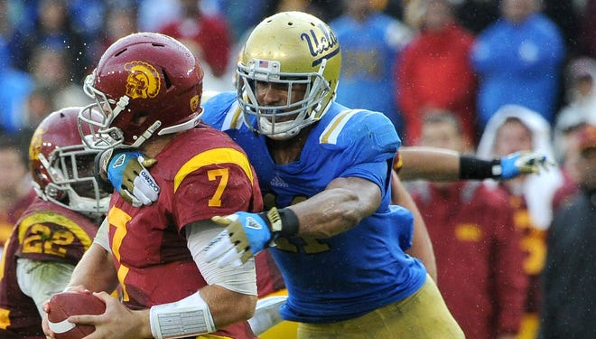 UCLA OLB Anthony Barr had two double-digit sack seasons after converting from running back.