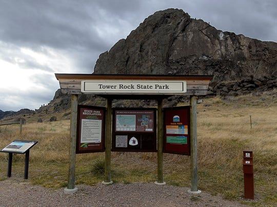 Tower Rock State Park near Cascade.