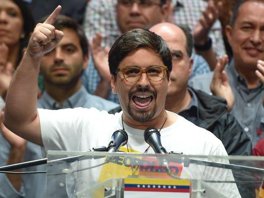 VENEZUELA-CRISIS-OPPOSITION