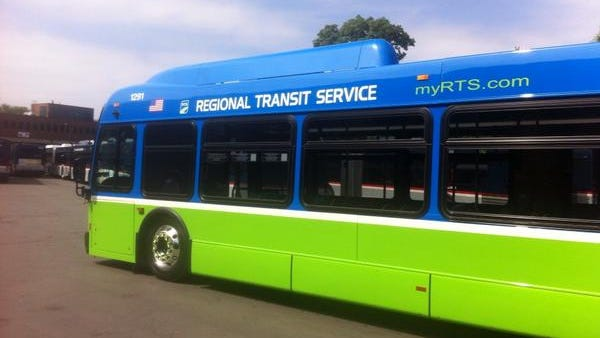 The new-look RTS bus.