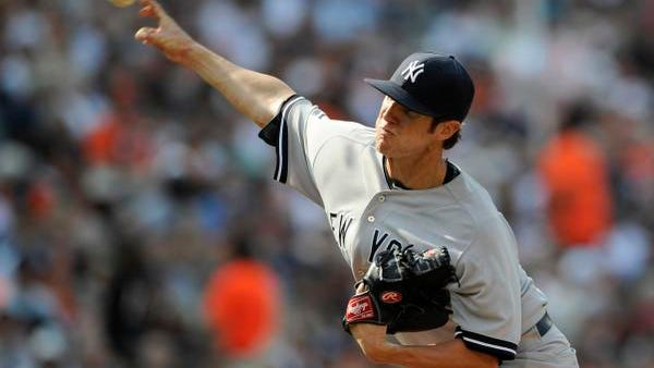 Yankees rookie Shane Greene pitched 7 1/3 innings of shutout ball Saturday against Baltimore, giving up just four hits and two walks.