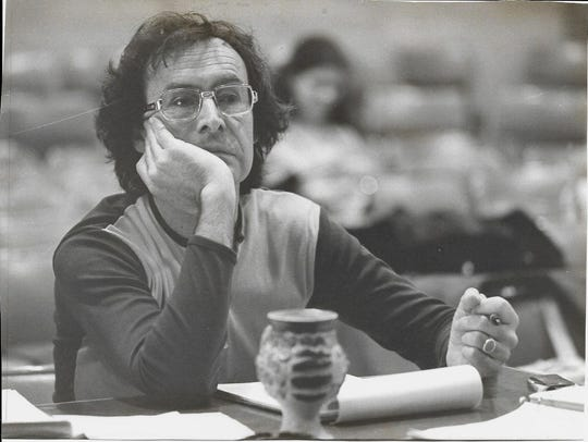 Bill Harvey, who taught theater arts for 36 years at