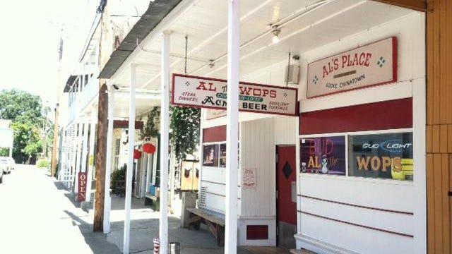 Al's Restaurant on Locke's historic Main Street.