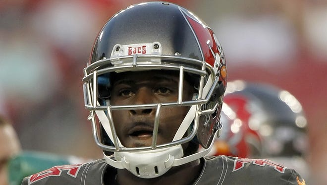 Danny Gorrer when he was with the Tampa Bay Buccaneers during this past preseason.