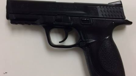 Appleton police recovered this pellet gun from a fight Wednesday afternoon involving high school students.