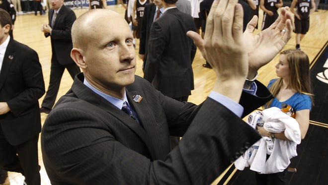 Xavier coach Chris Mack said this offseason has been ?very challenging,? but the program will be fine with players taking on new roles. Enquirer fileSunday, March 18, 2012 NCAATHIRDROUND SPORTS : Xavier Musketeers head coach Chris Mack cheers their fans after their 70-58 win over the Lehigh Mountain Hawks in their third round game of the 2012 NCAA mens basketball tournament in Greensboro, NC. The Enquirer/Jeff Swinger