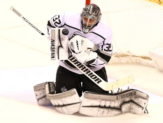 Kings goalie Jonathan Quick returns to form against Panthers