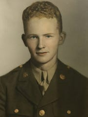 World War II Veteran Ed Tunison, U.S. Army Air Corps.