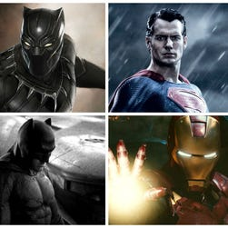 Marvel and DC superheroes will go head to head over the next few years.