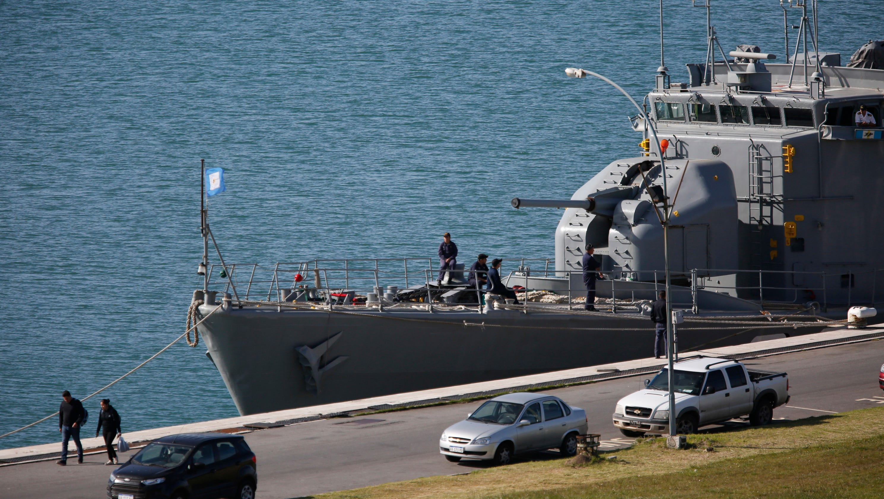 'Explosion' detected near Argentine submarine's last known location