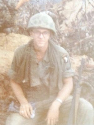Tim Schar of Ashland served in the US army in the late 60s in Vietnam.