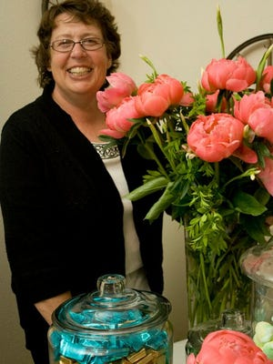 Brooks Garden Peonies proprietor Therese Sprauer.