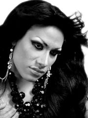 Nayeli Charolet, a transgender Mexican woman who is