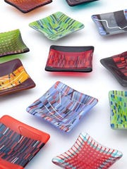 The Rhinebeck Arts Festival will be held June 25-26 at the Dutchess County Fairgrounds in Rhinebeck. Among the artists will be Joan Ensminger of Stone Ridge and her kiln-formed art glass.