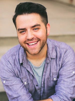 """Sam Hartley plays Buddy in """"Elf,"""" the first show in the 2016-2017 Abilene Broadway Series."""