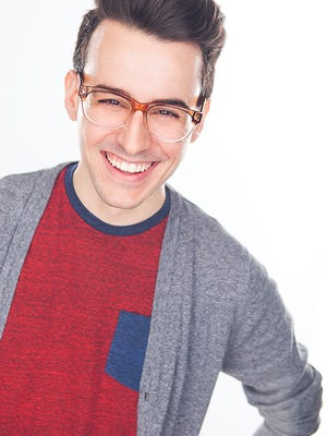 "Remy Germinario stars in the one-man show ""Buyer & Cellar"" at Riverside Theatre in Vero Beach."