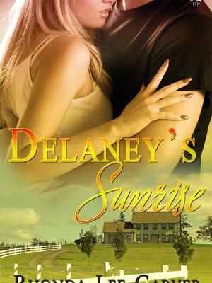 "The cover of Rhonda Lee Carver's 2011 romance novel, ""Delaney's Surprise,"" published by Lyrical Press."
