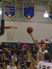 Now 6-foot-5 and 205 pounds, MSU walk-on Matt Van Dyk (24) averaged 15.8 points, 9.7 rebounds and 5.3 assists per game as a senior at Imlay City High in 2011-12.