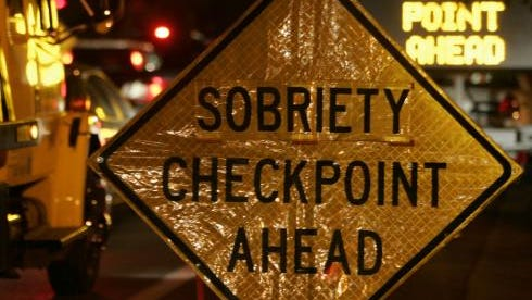 Traffic check points are legal in North Carolina and other states.