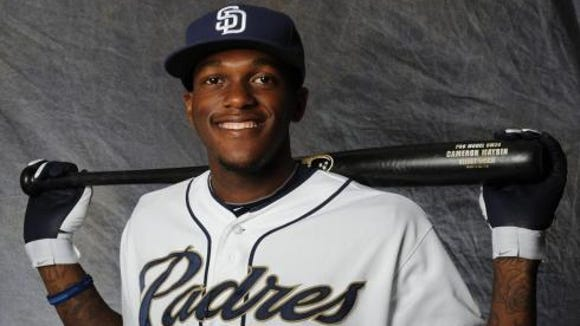 Roberson graduate Cameron Maybin is an outfielder for the San Diego Padres.