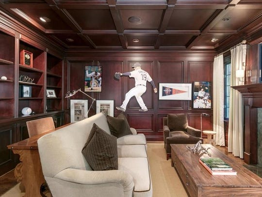 One of the rooms in Anibal Sanchez's 5,253-square-foot