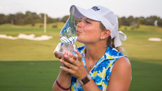 Lindsey Weaver captured the win. The Guardian Championship finals were held Sunday, Sept. 24, 2017, at the Capitol Hill Golf Course - Senator Course in Prattville.