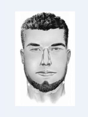 A composite sketch of a man suspected of a sexual assault from Nov. 19, 2017.