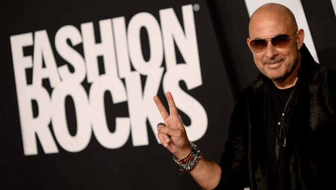Designer John Varvatos attends Fashion Rocks 2014, the TV special celebrating the link between fashion and music, broadcast from Brooklyn in September.