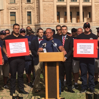 Arizona firefighters call for expansion of health-care coverage