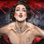 """Brian Clowdus, an Atlanta-based actor, plays Dr. Frank 'n' Furter in the Warehouse Theatre's production of """"The Rocky Horror Show,"""" with an unprecedented 32 performances through Oct. 31."""