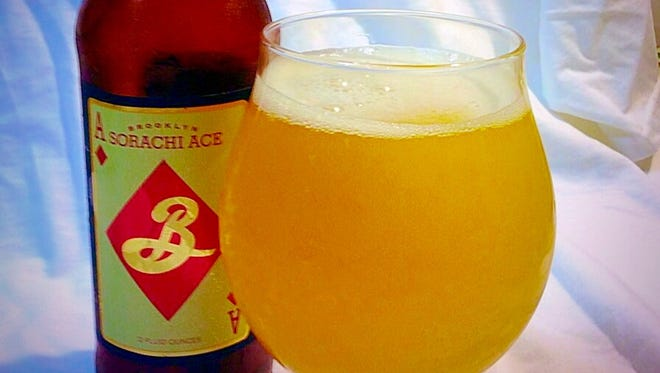 Brooklyn Sorachi Ace, a snappy saison from Brooklyn Brewery.
