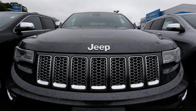 Inventory of SUVs like the Cherokee have been piling up, and incentives on SUVs rose $704 from a year earlier to $3,663 last month, according to J.D. Power dealer data.