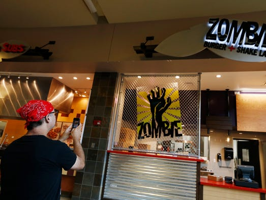 Zombie Burger Invades Jordan Creek Mall